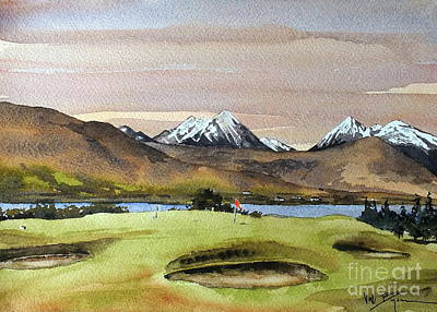 Painting - Tralee Gc, Kerry by Val Byrne