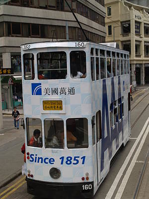 Photograph - Tram 160 by Michael Canning