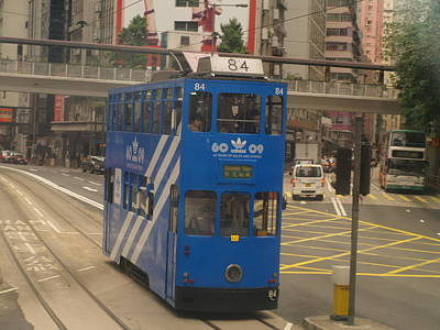 Photograph - Tram 84 by Michael Canning