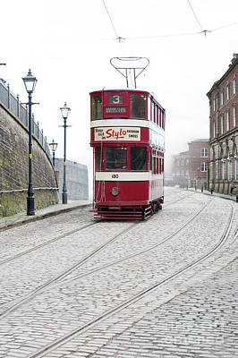 Photograph - Tram by Lee Avison