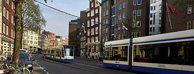 Photograph - Tram Panorama. Amsterdam by Jouko Lehto