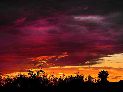 Photograph - Tramonto Splendido by Mark Blauhoefer