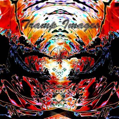 Digital Art - Tramp Images Logo by Wesley Nesbitt