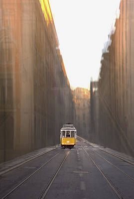 Photograph - Trams Of Lisbon I by Bruno Amaral