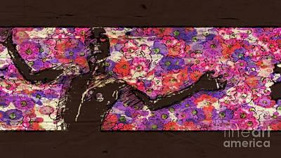 Dancers Mixed Media - Trance Girl No. 1 By Mary Bassett by Mary Bassett