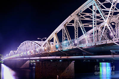 Photograph - Trang Tien Bridge 03 by Werner Padarin