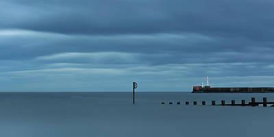 Photograph - Tranquil Aberdeen Beach _ Pano by Veli Bariskan