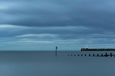 Photograph - Tranquil Aberdeen Beach by Veli Bariskan