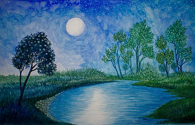 Painting - Tranquil by Adria Trail