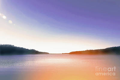 Photograph - Tranquil Afternoon At The Lake by Lena Wilhite