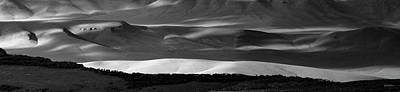 Photograph - Tranquil Black And White 14 by Leland D Howard