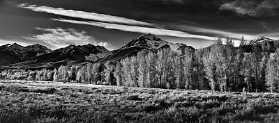 Photograph - Tranquil Black And White 2 by Leland D Howard