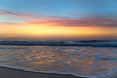 Ocean Power Photograph - Tranquil Brilliance  by Betsy Knapp