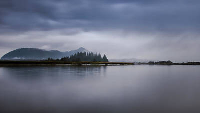 Photograph - Tranquil Dawn On The Bay by Don Schwartz