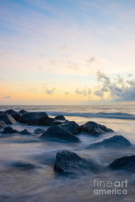 Photograph - Tranquil Folly Beach by Jennifer White