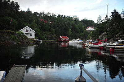 Photograph - Tranquil Harbor by Randi Grace Nilsberg