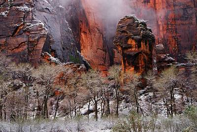 Utah Photograph - Tranquil In Zion by Dewey Farmer