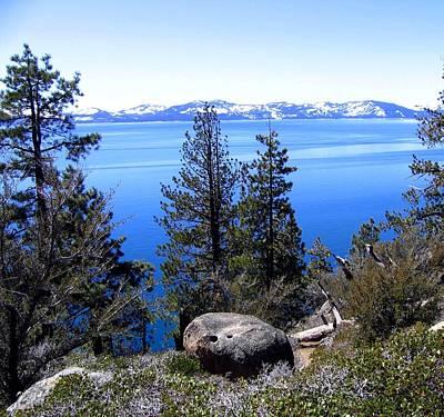 Tranquil Lake Tahoe Art Print