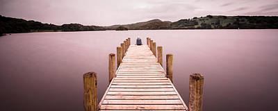 Photograph - Tranquil Lakes by Kelvin Trundle