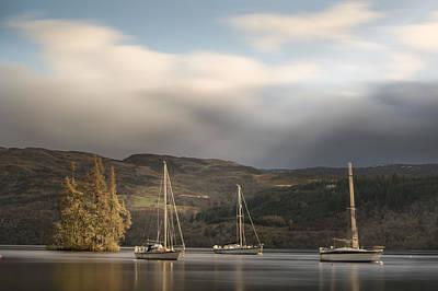 Photograph - Tranquil Loch Ness by Veli Bariskan