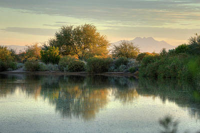 Photograph - Tranquil Morning At The Lake by Sue Cullumber