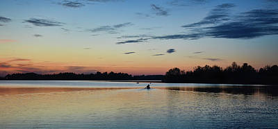 Photograph - Tranquil Paddle Home by Greg Jackson