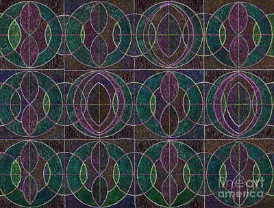 Tranquil Pattern Art Print