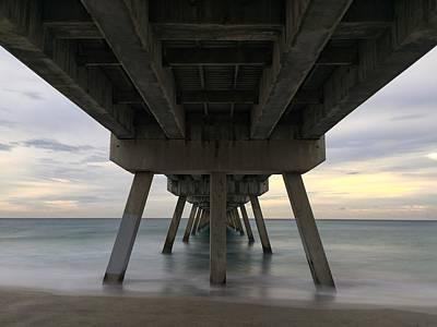 Photograph - Tranquil Pier #2 by Juan Montalvo