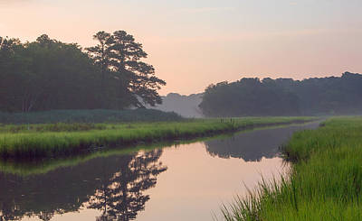 Tranquil Reflections Art Print by Allan Levin