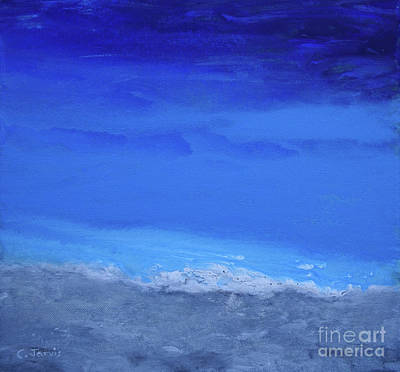 Painting - Tranquil Sea by Carolyn Jarvis