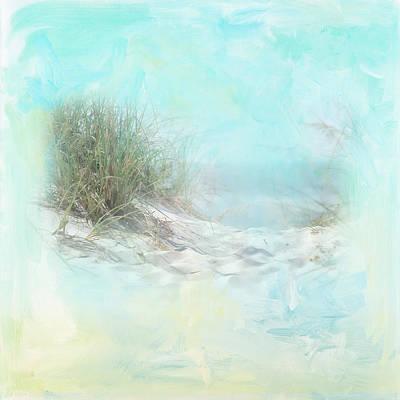 Tranquil Shores - Dunes Art Print by Amanda Lakey