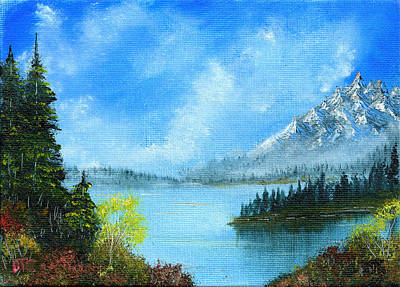 Painting - Tranquil Shores  by Tom Conboy