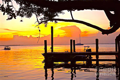 Photograph - Tranquil Sunset 2 by Judy Kay