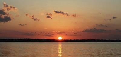 Digital Art - Tranquil Sunset by Ellen Barron O'Reilly