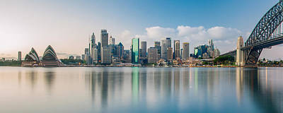 Sydney Skyline Photograph - Tranquil Sydney Mornings by Az Jackson