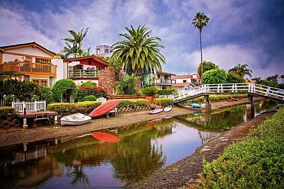 Photograph - Tranquil Times On The Canal by Lynn Bauer