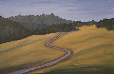 Painting - Mystic Trail by John Farley