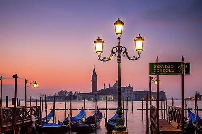 St. Mark Photograph - Tranquil Venice by Andrew Soundarajan