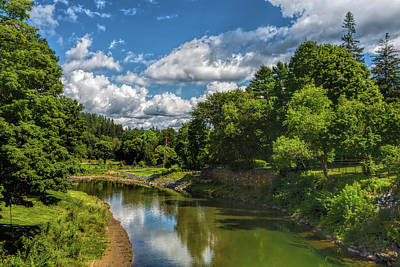 Photograph - Tranquil Vermont by John M Bailey