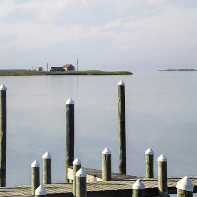 Tranquil View In Roanoke Sound Art Print