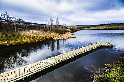 Photograph - Tranquil Wooden Jetty by Jorgo Photography - Wall Art Gallery