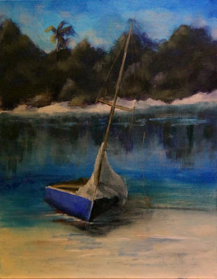 Painting - Tranquility After The Storm by Sarah Barnaby