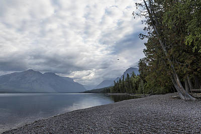 Photograph - Tranquility At Lake Mcdonald - Glacier Np by Belinda Greb