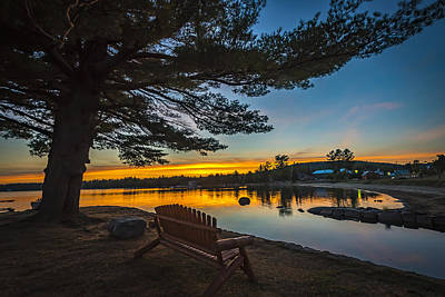 Photograph - Tranquility At Sunset by Francisco Gomez