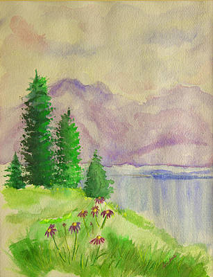 Painting - Tranquility by Dolores  Deal
