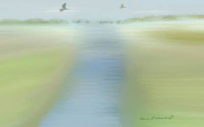 Gina Manley Painting - Tranquility by Gina Lee Manley