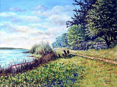 Art Print featuring the painting Tranquility by Heidi Kriel