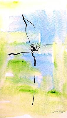Painting - Tranquility by Julie Hoyle