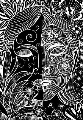 Tranquility Art Print by Natasha Junmanee