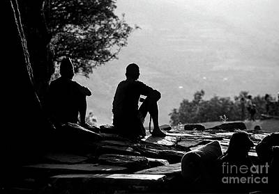Photograph - Tranquility Nepal Style by Craig Lovell